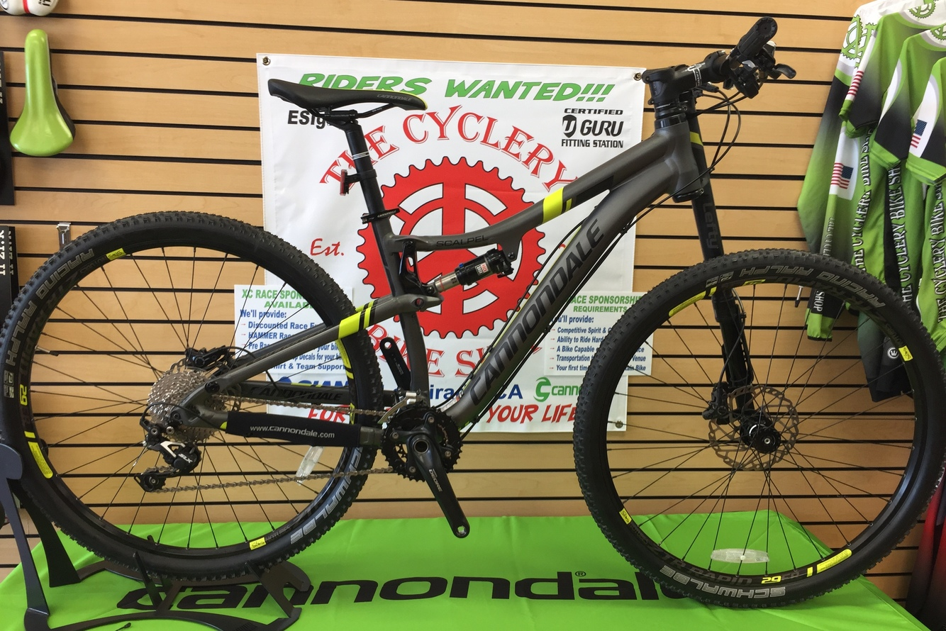 2014 Cannondale  Scalpel 29er Alloy 4 Medium