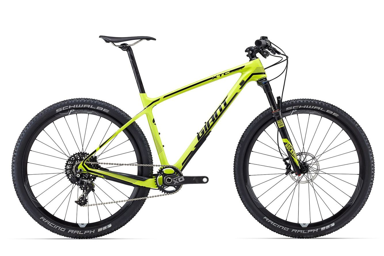 2016 Giant  XTC Advanced SL 27.5 1  Medium