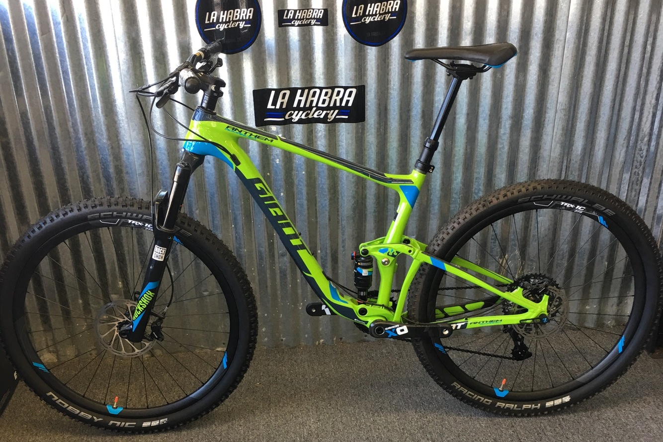 2016 Giant Anthem Advanced SX 27.5 Large