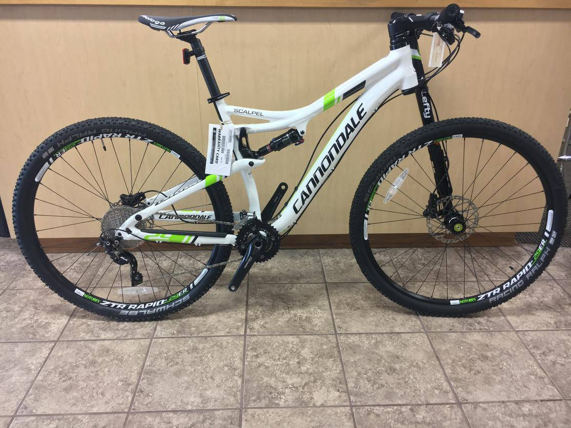 2015 Cannondale  Scalpel 21""