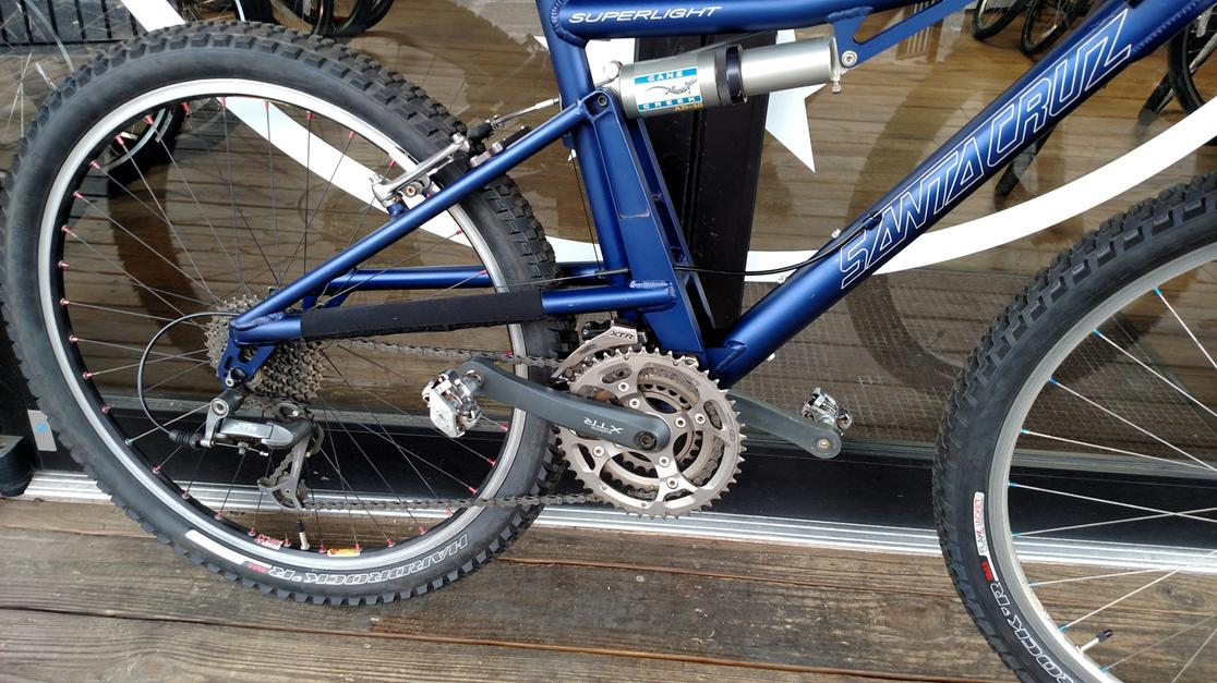 2001 Santa Cruz Superlight XTR - FS mtb Small