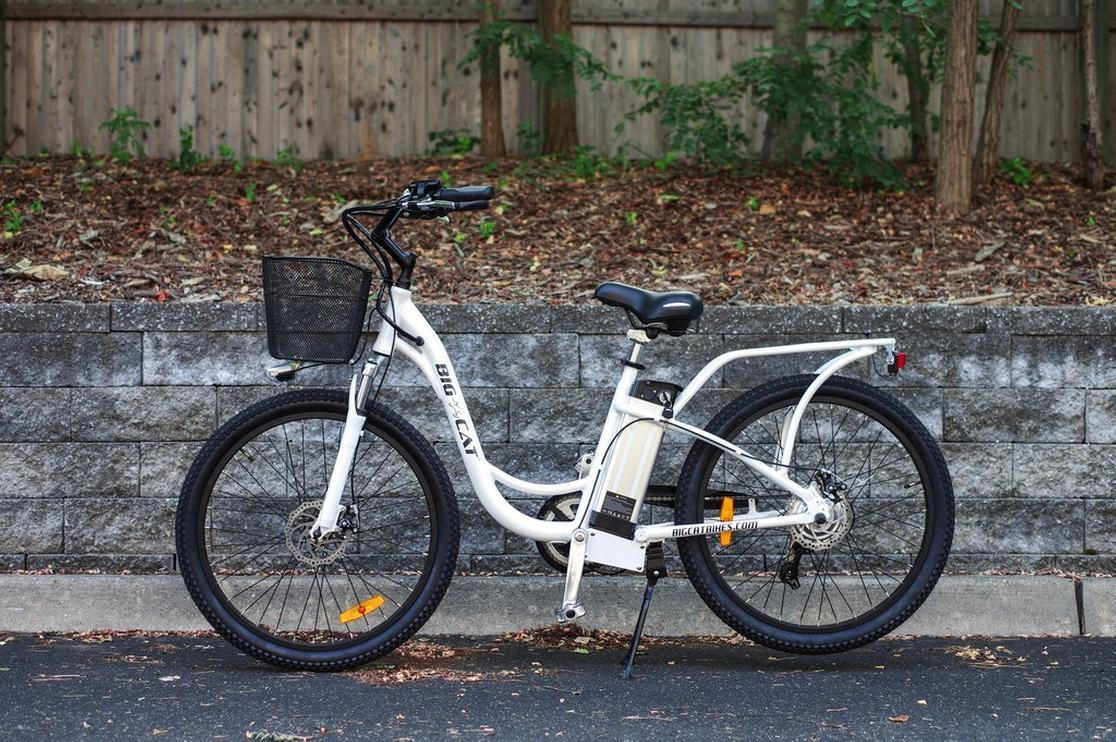 2017 Big Cat Electric Bikes LONG BEACH CRUISER 350 17.5""