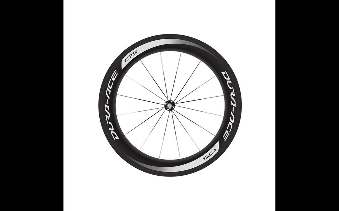2016 Shimano Dura Ace 75 Mm Carbon Tubular Wheelset Small