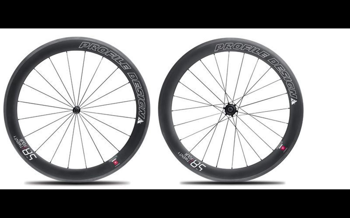 2016 Profile Design 58/TWENTY FOUR - Carbon Clincher Small