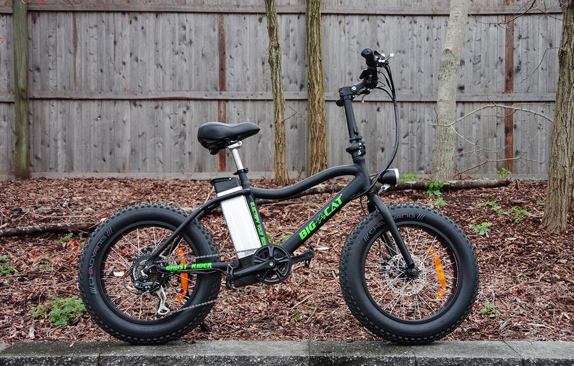 2017 Big Cat Electric Bikes  MINI CAT XL 500 Small