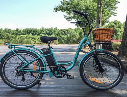 discount bikes, bicycles for sale, bike discount, 2017 Big Cat Electric Bikes Long Beach Cruiser 500